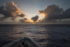 Straight Ahead (MrBlackSun) Tags: cruising cruise pacific ocean sunset micronesia chuuk truk nikon d810 pacificocean nikond810