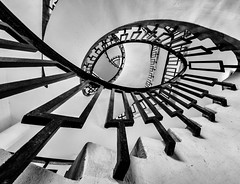 Any which Way (Daniel Borg) Tags: 918mm architecture bw black blackandwhite buildings calm camera city cityandarchitecture curve danielborg em5 empty endless entwined geometric geometry lines london londonspiral londonstaircase lookingup micro43rds omd omdem5 oly olympus olympus918mm other pov spiral spiralstaircase staircase stairs stairwell step steps uwa ultrawideangle urban vanishingpoint white wideangle μ43rds england unitedkingdom gb