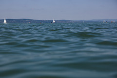 Freedom (mseolah) Tags: lakebalaton lake summer 2016 sailboat blue sky sifok