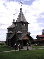 Old wooden church (lubovphotographer) Tags: flyeranano9 smartphonephotography photograph smartphonephot photo photographylovers photography woodenarchitecture wooden picturethis phos photolovers suzdal suzdalkremlin kremlin cremlin goodshot coolish  2016     exibition excurtion ex         panorama