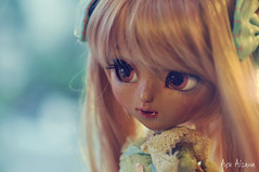 Risa (Au Aizawa) Tags: pullip kitmio tan tanned tanskin japanese fashion doll fullcustom customized custom dollmeeting