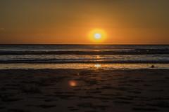Sun Set on Ogmore by Sea (Mal.Durbin Photography) Tags: sunset maldurbin sunsets ogmorebysea southwalesuk weather settingsun