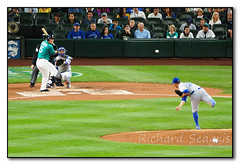 The Pitch (seagr112) Tags: safecofield seattle washington baseball game baseballgame seattlemariners torontobluejays marcoestrada pitcher catcher russsellmartin sonya77 sony70400mmg kyleseager