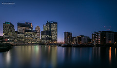Canary Wharf {Explore} (jerry_lake) Tags: 7nov2016 barclays blackwallbasin citi canarywharf hsbc london londoncity onecanadasquare statestreet nightshoot leebigstopper bigstopper