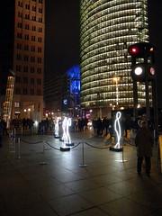 Berlin - Festival of Lights - Potsdamer Platz15-10-2016 (Detlef Wieczorek) Tags: berlin potsdamerplatz festivaloflights night city