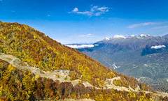 Rosa Khutor (gvopros) Tags: rosakhutor krasnayapolyana sochivacation resort mountains autumn caucasus