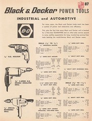 Black and Decker power tools (Runabout63) Tags: mcphersons catalogue black decker drill powertool