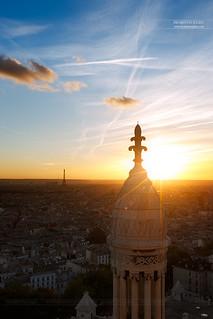 Depuis le Dôme de la Basilique du Sacré-Coeur de Montmartre, Paris