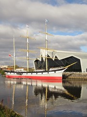 Tall Ship, Glasgow (rbjag71) Tags: tallship riverside museum clydeside glenlee riverclyde reflections glasgow canonpowershot sx610hs