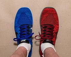 Shoes (Oliver Leveritt) Tags: nikond610 afsnikkor2470mmf28ged oliverleverittphotography sb800 flash speedlight shoes runningshoes nike flyknit garyfonglightspherecloud