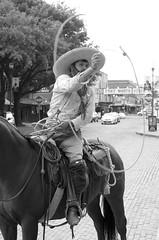 Vaquero (dangr.dave) Tags: fortworth tx texas cowtown tarrantcounty panthercity downtown historic architecture stockyards vaquero cowboy horse lasso