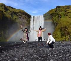 #skogarfoss #rainbow #彩虹瀑布 #iceland #2016冰火冒險王 #waltermitty也來過