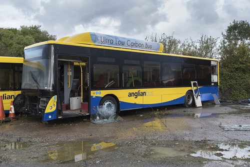 (058) Bus - Anglian - Man EcoCity - WX62 HGG - Beccles