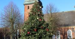 """Der Christbaum. Die Christbäume. Oder: Der Weihnachtsbaum. Die Weihnachtsbäume. Ein großer Christbaum vor einer Kirche. • <a style=""""font-size:0.8em;"""" href=""""http://www.flickr.com/photos/42554185@N00/30683994983/"""" target=""""_blank"""">View on Flickr</a>"""