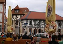 Seligenstadt, Freihofplatz, Gasthaus Klosterstuben (HEN-Magonza) Tags: seligenstadt hessen hesse deutschland germany freihofplatz fachwerkhaus timberedhouse gasthausklosterstuben