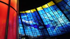 P1040136 (Nog-Z) Tags: 台湾 高雄 カオシュン 地下鉄 駅 taiwan kaohsiung subwaystation 美麗島駅 ステンドグラス formosaboulevardstation stainedglass