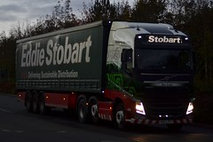 Stobart H4965 KM63 SVT Ena Lydia at Asda Distribution Washington 4/11/16 (CraigPatrick24) Tags: eddiestobart stobartgroup stobart road vehicle transport truck lorry trailer delivery logistics cab volvo volvofh asdadistribution washington enalydia h4965 stobartcurtainsider curtainsider km63svt