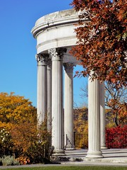 Temple of the Sky (KaDeWeGirl) Tags: newyorkstate westchestercounty yonkers untermyer park temple autumn