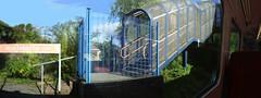 Foresight Forsaken? (Rhydgaled) Tags: chandlersford railway station class158 expresssprinter dmu dieselmultipleunit interior photoshop photomerge southwesttrains