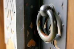 meiji shrine I (chunsa88) Tags: tokyo japan chunsa88 meijishrine doorknocker doorhandle door