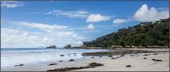 Walkerville South beach, Victoria, Australia (tsmpaul) Tags: walkervillle leongatha canon eos600d rebelt3i kissx5 beach sand sky clouds water sea ocean rocks