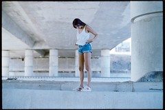 Under the Bridge (MY ANALOG DIARY // by Shay Segev) Tags: ruth calahora shay segev 35mm analogue under bridge