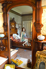 Time Through the Looking Glass (Carl Kitzke) Tags: scifi fantasy timetravel portal victorian mansions digitalart carlklitzkeart