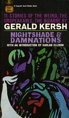 Gold Medal Books R1887 - Gerald Kersh - Nightshade & Damnations (swallace99) Tags: goldmedal vintage 60s horror terror paperback leoanddianedillon