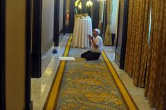 Man Offering Namaz (E R) Tags: 2611 2611images 26112008 tajmahalhotel tajmahalhotelmumbai tajmasacar terrorattackonmumbai terrorattackontaj terroristattackonmumbai prayer manofferingprayer muslimprayer namaz tajmahalhotelandpalaces india mumbai muslims indianmuslim islam islamicmilitancy