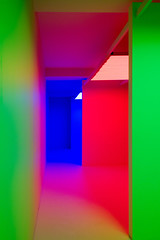 colore (godelieve b) Tags: abstract abstraction volume perspective colors couleurs redlight green vert intrieur interior inside brussels nobodyisthere
