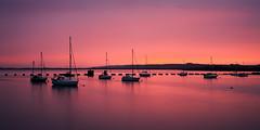 Langstone Hues (Langstone Joe) Tags: langstoneharbour haylingisland sunset afterglow yachts seascape portsdownhill portsmouth hampshire billyline calm