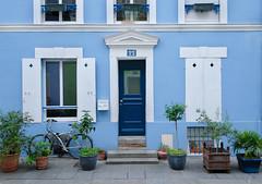 Rue Crmieux (David Khutsishvili) Tags: davitkhutsishvili dkhphoto paris france europe architecture city house ledefrance frame blue nikon d5100 urban 500px instagram bicycle ruecremieux cremieux street