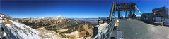 Aerial Tram station - top of Rendezvous mountain (Ron Raffety) Tags: topofrendezvous aerialtramstation rendezvousmountain jacksonhole ronraffety ronraffetyphotography iphone6 panorama iphonepanorama