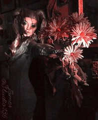 Picked with Scorn (JAMES @ studio 136) Tags: blood flowers fitness rootstein mannequin studio136 james