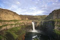 Palouse Falls (zacknicol) Tags: waterfall palouse washington nature outdoors eastern green water hike travel leisure