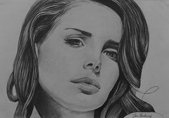 Lana Del Rey (Joan Kamberai) Tags: new portrait art lana del pencil john photo artwork drawing song rey realistic kamberai
