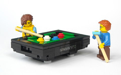Billiard Table (mijasper) Tags: game pool sport lego interior billiards minifig minifigs billard moc billiardstable billardtisch poolbillard