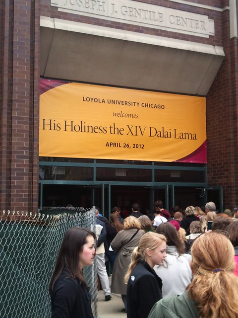 The Dalai Lama at Loyola Chicago