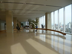 The viewing hall (seikinsou) Tags: sky japan hall spring view terrace departmentstore osaka hankyu
