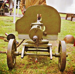 Russian  WW 2  Maxim gun. (John(cardwellpix)) Tags: 2 gun maxim ww 40s surreyuk sovietrussian may18th2013brooklands