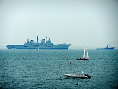 Farewell ARK ROYAL (steamie bob) Tags: solent arkroyal warship rn royalnavy hmsarkroyal