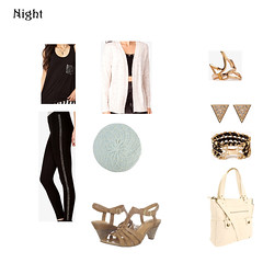 Night Outfit (midwesternrose) Tags: bag spring outfit ring clothes bracelet heels earrings outfits