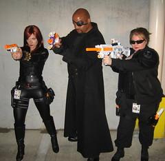 Agents of SHIELD (MorpheusBlade) Tags: costume cosplay agent shield blackwidow comiccon comicon nickfury tactical natasharomanoff ironman3 ultimatenickfury