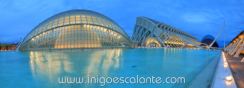 Blog de viajes: Ciudad de las Artes y las Ciencias de Valencia Atardecer - City of Arts and Science Sunset