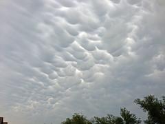 Mammatus clouds (Lindell Dillon) Tags: nature weather clouds explore mammatusclouds normanok reddirtpics lindelldillon hallbrookd