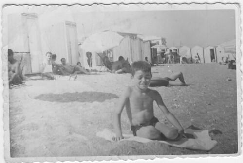 Catanzaro Lido fine anni 50 - In Spiaggia
