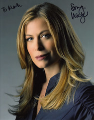 Sonya Walger Signed Photograph 2 (TravelShorts) Tags: lost autograph coupling csi signed flashforward sonyawalger thelibrarian