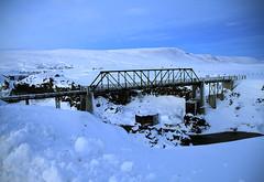 Bridge Near Godafoss in Iceland (` Tos