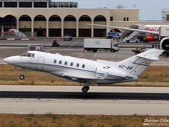 Private --- Hawker Beechcraft 900XP --- HZ-A8 (Drinu C) Tags: plane aircraft sony beechcraft dsc hawker mla bizjet privatejet lmml 900xp hx100v hza8 adrianciliaphotography