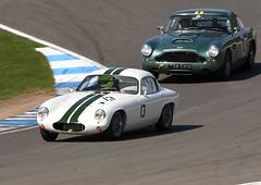 1962 Lotus Elite (oldeyes47) Tags: lotus elite autoracing 13 motorracing motorsport autosport historicracing classicracing historicsportscarclub hscc doningtonhistoricfestival